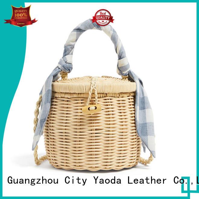 ANGEDANLIA handbags straw tote bag manufacturer for beach
