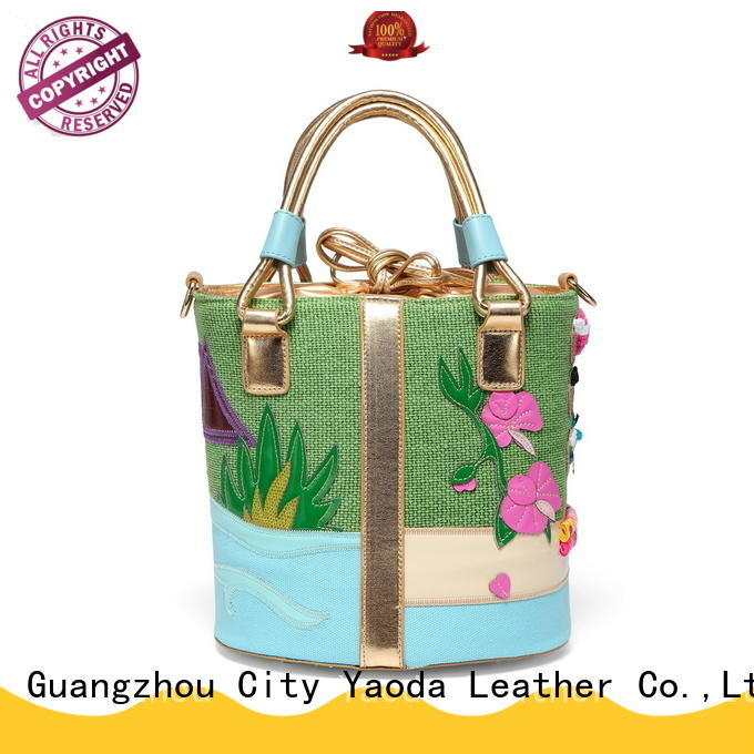 ANGEDANLIA large canvas messenger bag Chinese for shopping