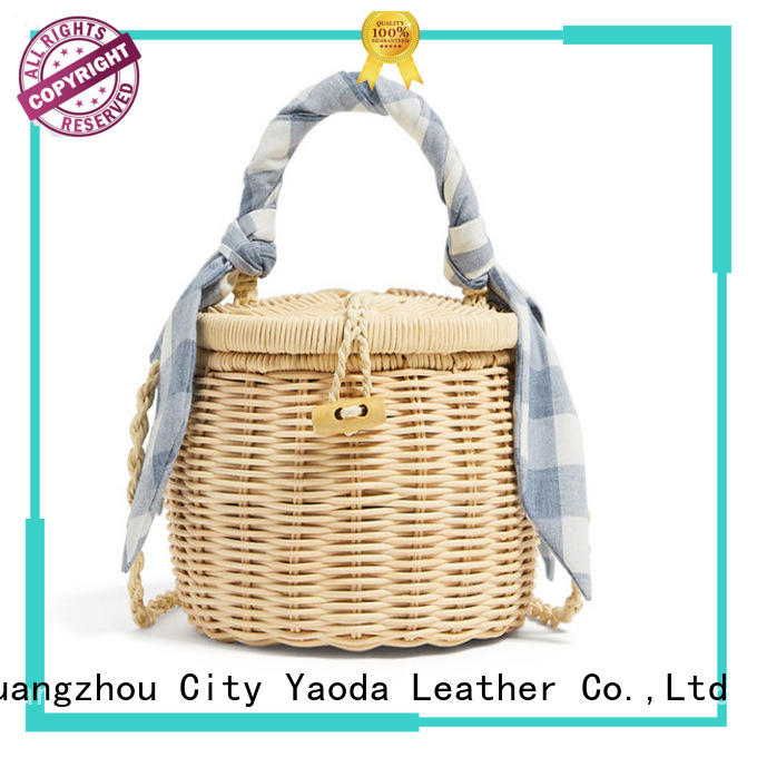 ANGEDANLIA natural womens summer bags manufacturer for women