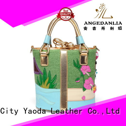 ANGEDANLIA customized canvas tote bags with zipper with zipper for lady