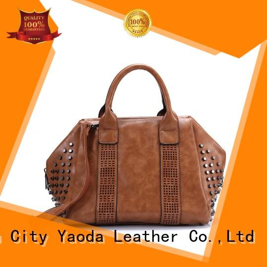 leather weekend bag gold envelop ANGEDANLIA Brand company