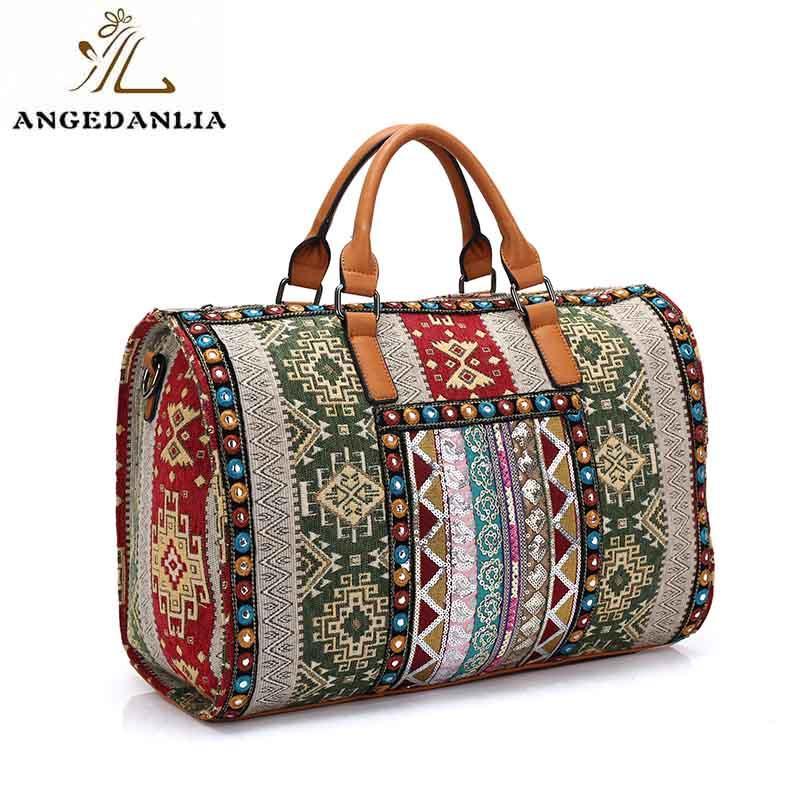 Bonia beaded womens boho ethnic traveling bag messenger handbags-1