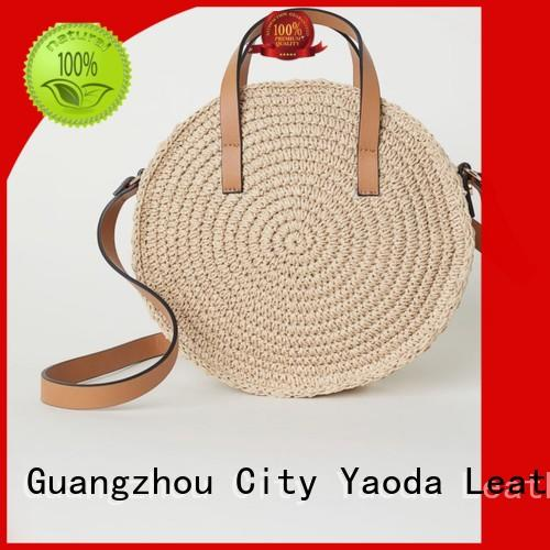ANGEDANLIA woven summer bag on sale for girls