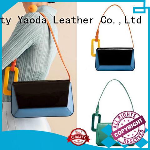 fashion pu handbags rivet manufacturer for date