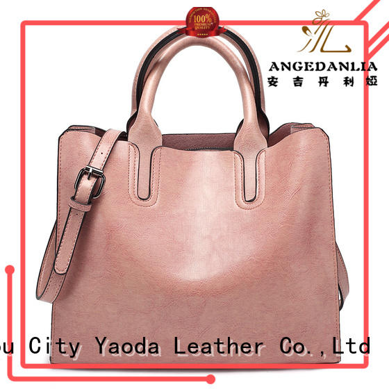 ANGEDANLIA elegant genuine leather purse for sale for travel