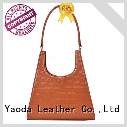 ANGEDANLIA elegant leather messenger bag on sale for daily life