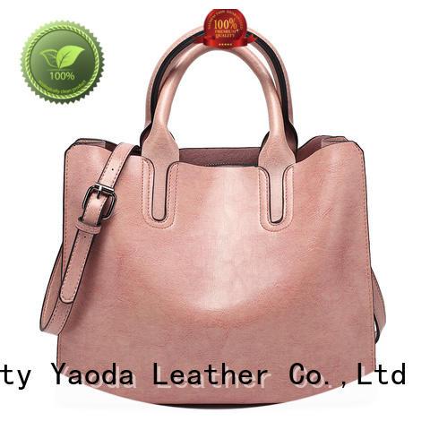 ANGEDANLIA big pu leather bag on sale for travel