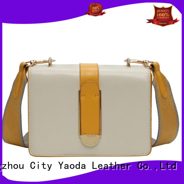 ANGEDANLIA fashion small leather handbag manufacturer for date