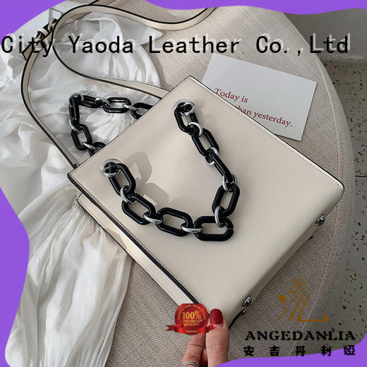 ANGEDANLIA fashion leather messenger bag for women online for daily life