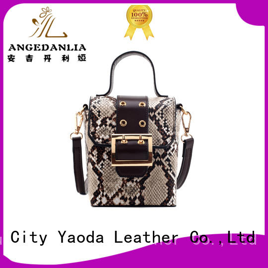 ANGEDANLIA bag leather tote handbags manufacturer for date