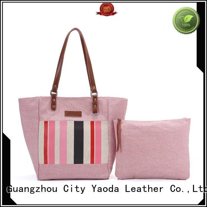 canvas beach bag bag for daily life ANGEDANLIA