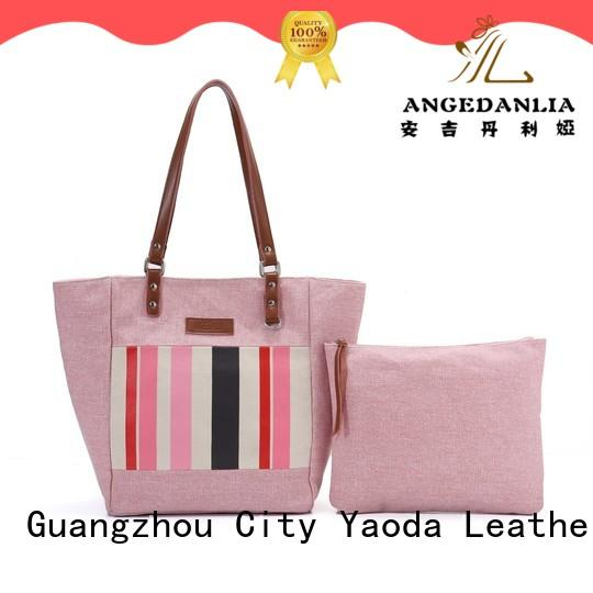 ANGEDANLIA promotion canvas messenger bag online for daily life