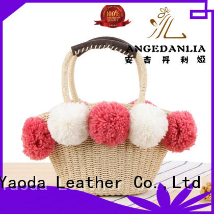 bucket ladies beach bag manufacturer for ladies