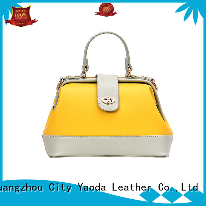 ANGEDANLIA simple pu material bag manufacturer for daily life