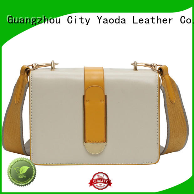 ANGEDANLIA fashion pu leather bag manufacturer for date