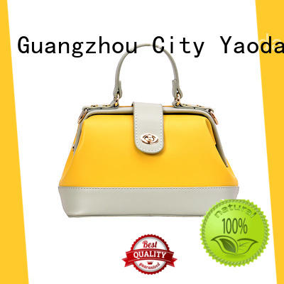 elegant handmade leather bags gold for sale for daily life