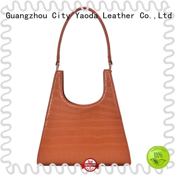 simple tan leather bag bag manufacturer for school
