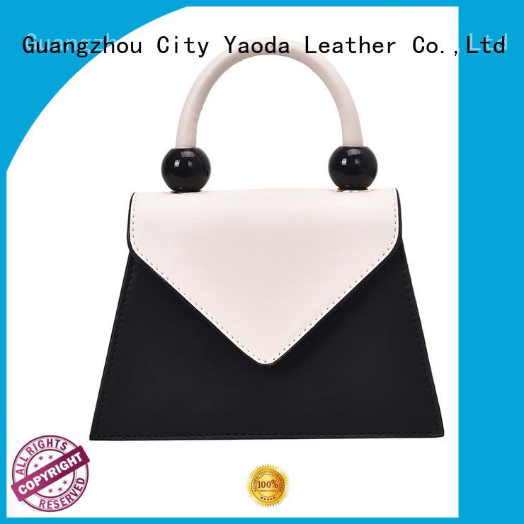 ANGEDANLIA simple leather shoulder bag on sale for school