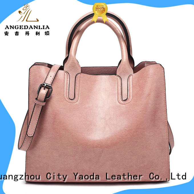 ANGEDANLIA pu designer leather bags online for women