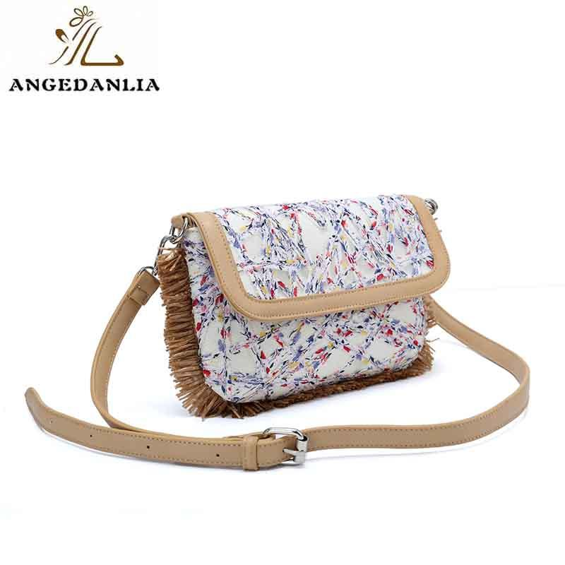 ANGEDANLIA designer small canvas bags with zipper for shopping-1
