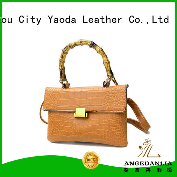 ANGEDANLIA apricot summer handbags online for daily life