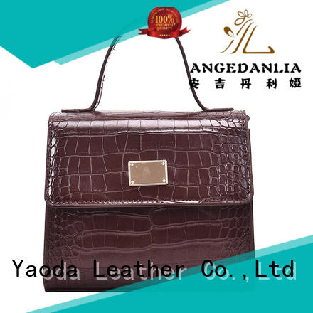 ANGEDANLIA material genuine leather totes supplier for women