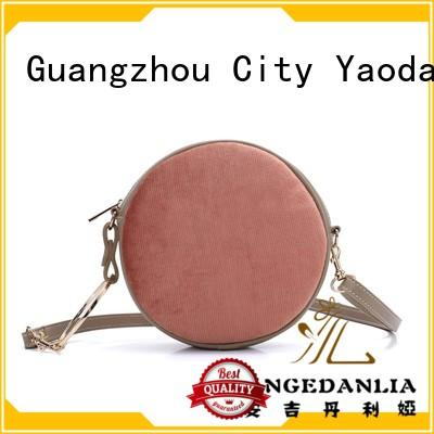 ANGEDANLIA Brand leather handle leather crossbody bag luxury factory