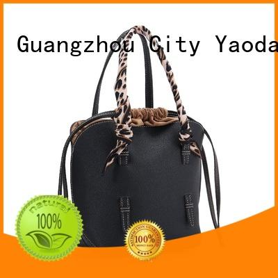 ANGEDANLIA wild black leather shoulder bag for sale for women
