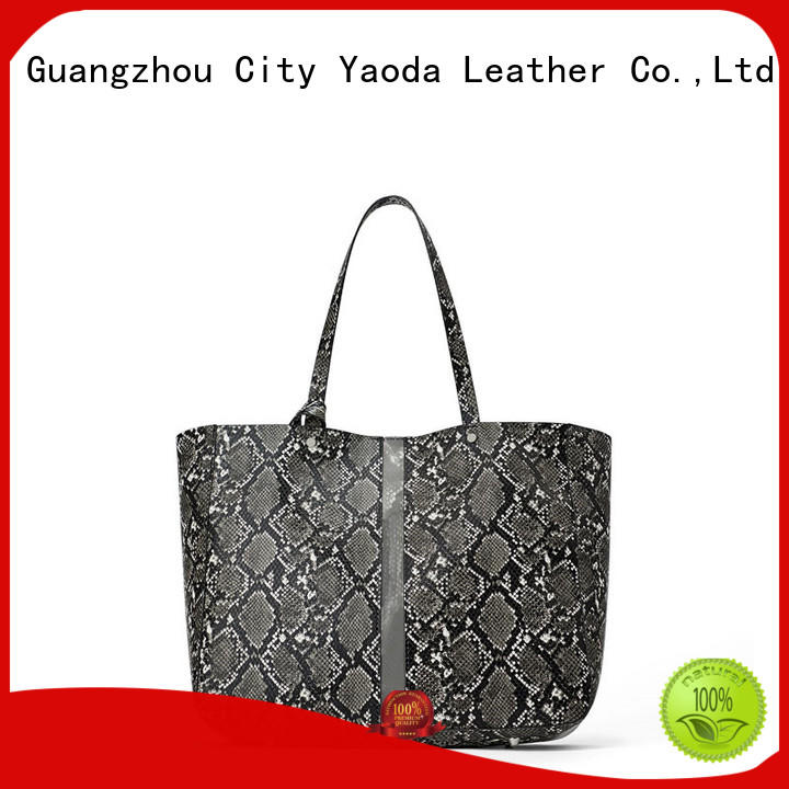 ANGEDANLIA generous tan leather bag manufacturer for date