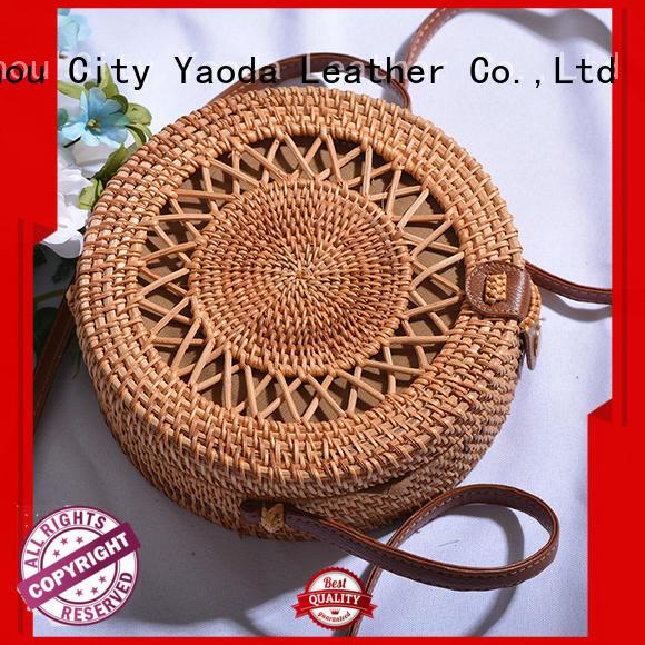 fashion basket handbags brass for sale for beach