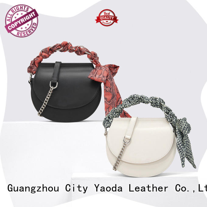 ANGEDANLIA wings black leather shoulder bag for sale for daily life