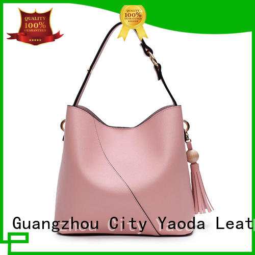 fashion leather handbags sale manufacturer for work ANGEDANLIA