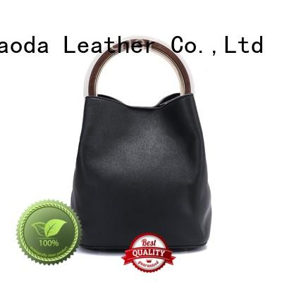 ANGEDANLIA best leather shoulder bag women's supplier for date