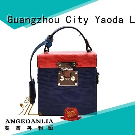 ANGEDANLIA crossbody soft leather purse manufacturer for date