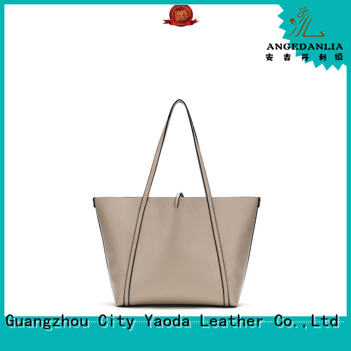 travel leather slouch bag manufacturer for date ANGEDANLIA