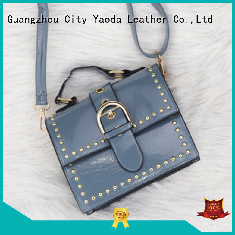 ANGEDANLIA shine leather clutch bag manufacturer for daily life