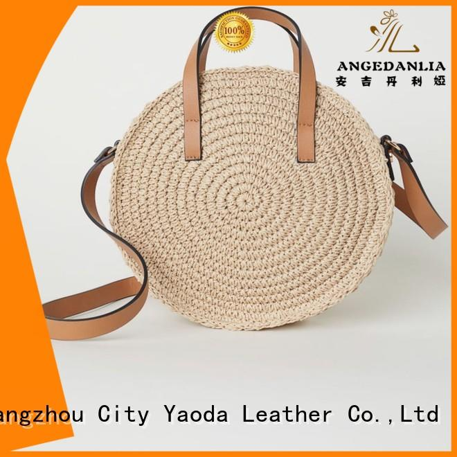 ANGEDANLIA shopping wholesale straw tote bags online for girls